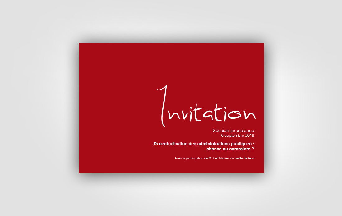 Invitation à la session jurassienne