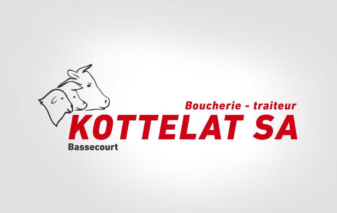 Logo de la Boucherie Kottelat SA