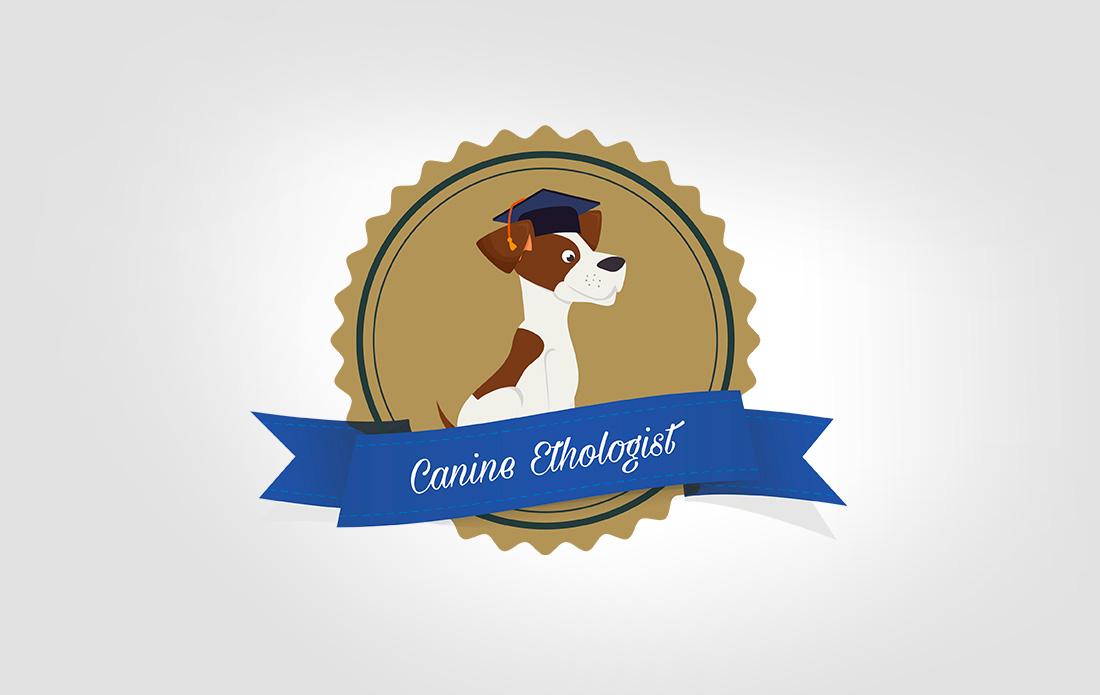Logo pour un doctorat en éthologie canine