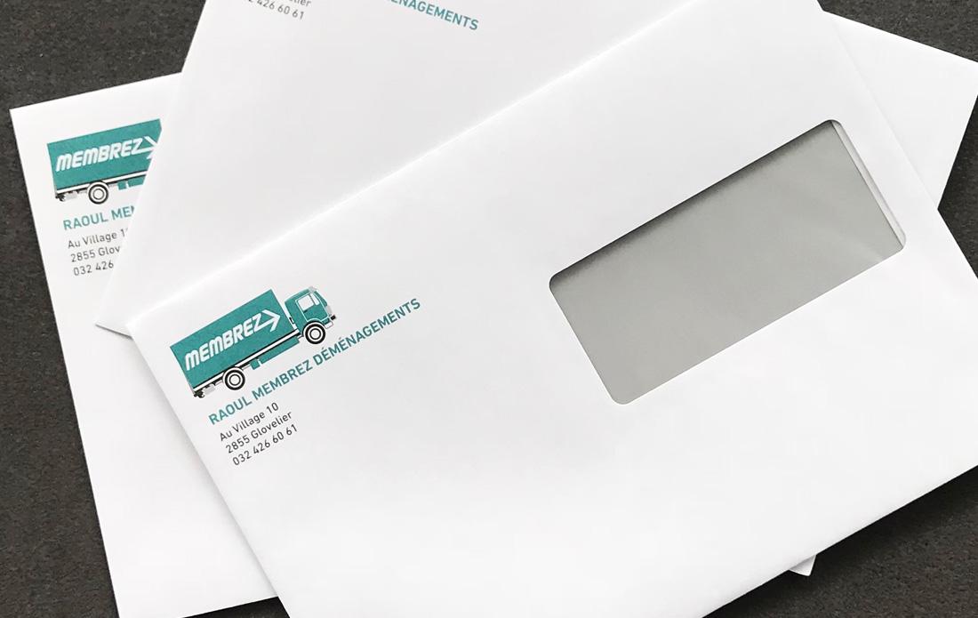 Enveloppes Membrez Déménagement