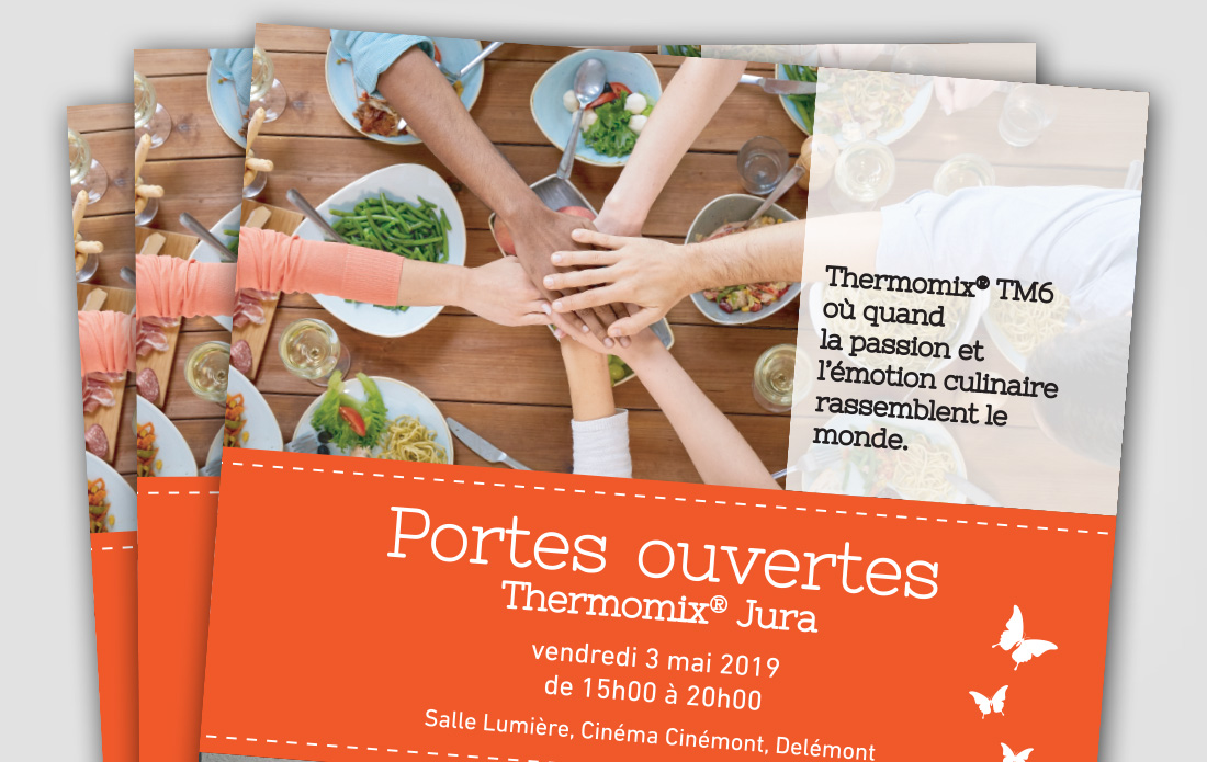 Portes ouvertes Thermomix TM6, Cinémont, Delémont