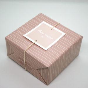 Papier cadeau lignes