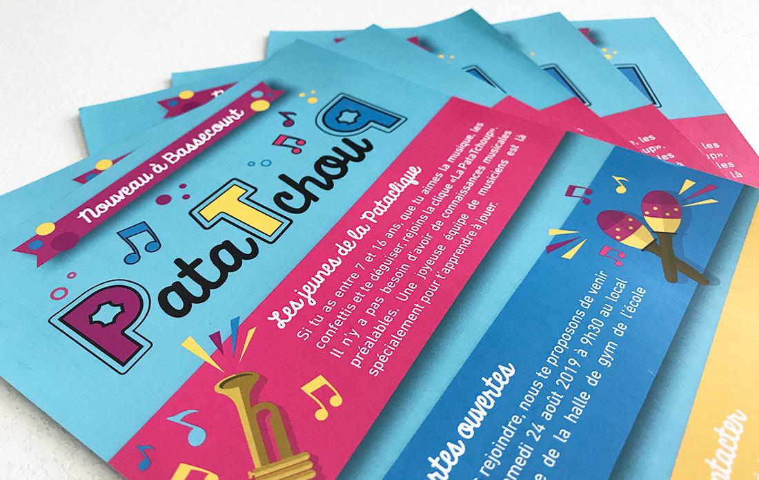 Flyer événementiel Patatchoup