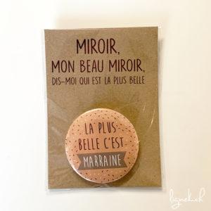 Miroir marraine