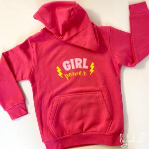 Sweat-shirt girl power