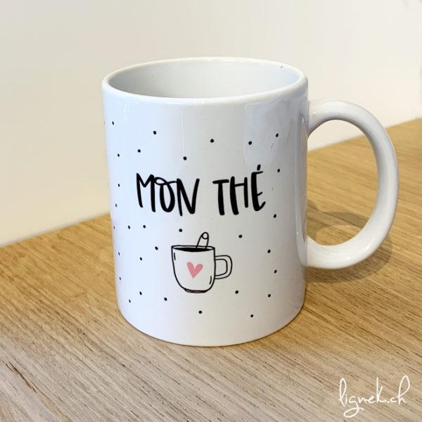 Kit boîte métallique et tasse mon thé