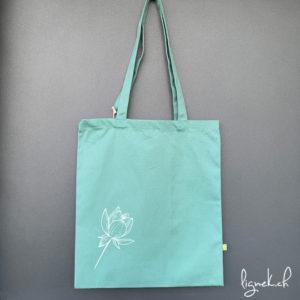 Sac en coton fleur de lotus