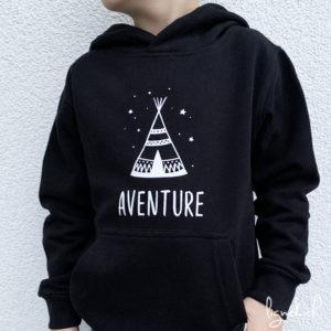 Sweat-shirt aventure