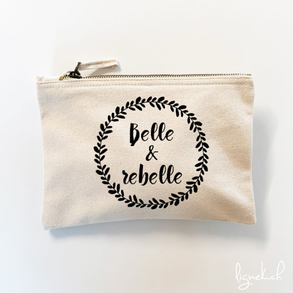 Trousse belle & rebelle