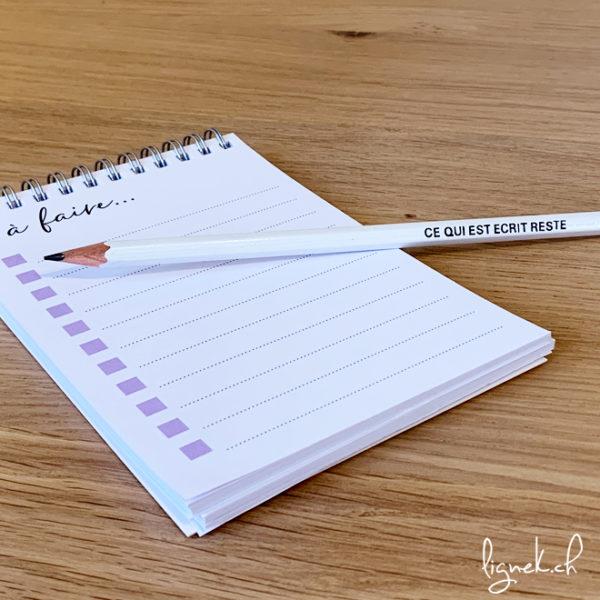 Crayon ce qui est écrit reste