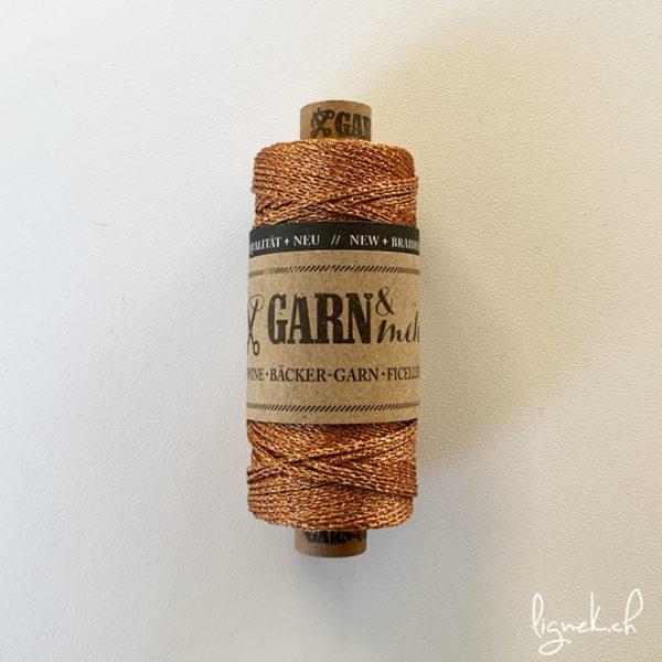 Ficelle GARN & MEHR cuivre