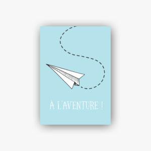 Carte postale à l'aventure !