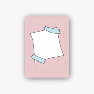 Carte postale note