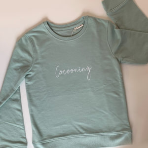 Sweat shirt coton bio cocooning
