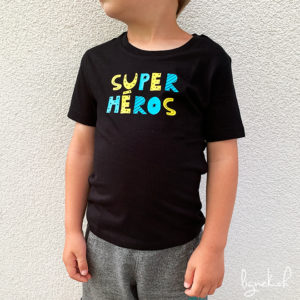 T-shirt super héros