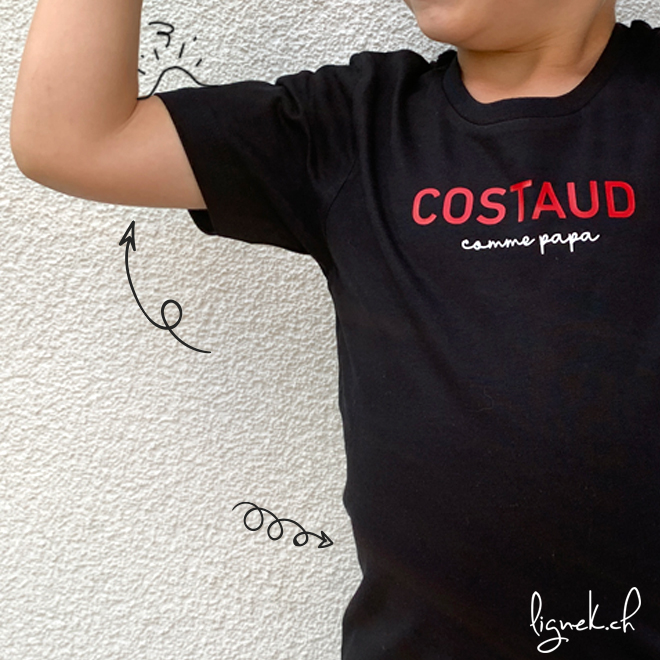 T-shirt costaud comme papa