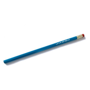 Crayon de papier la vie est belle