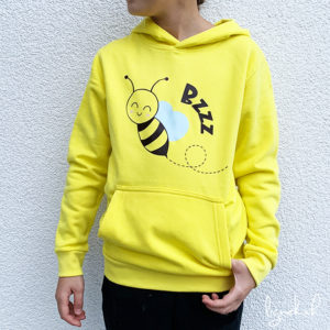 Sweat-shirt abeille