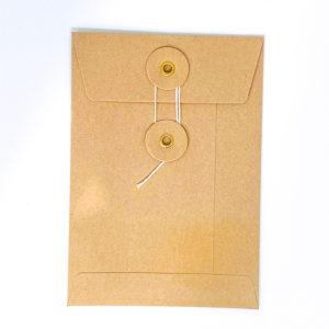 Enveloppe japonaise beige