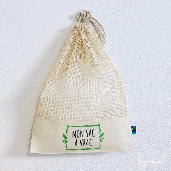 Sac à vrac en coton 100% bio