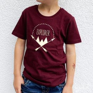 T-shirt explorer