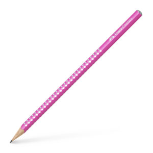 Crayon brillant Faber-CASTELL rose