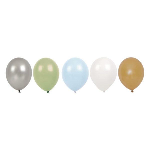 Ballons bleus JABADABADO