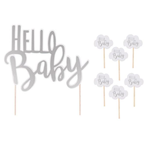 Fanions baby shower