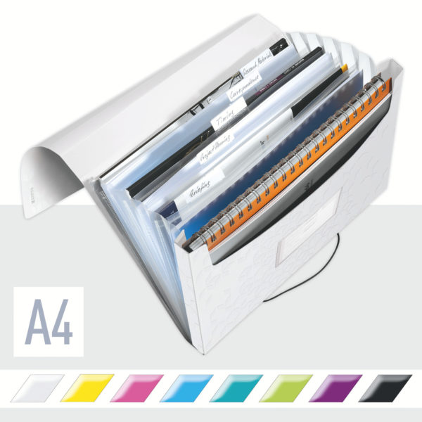 LEITZ Dossier project WOW A4 blanc