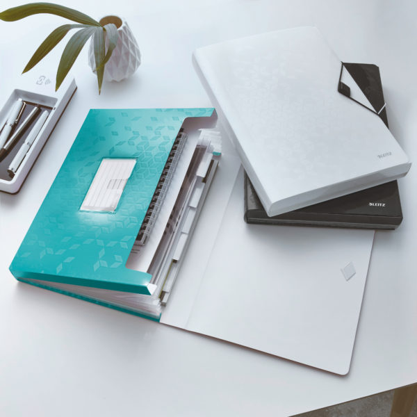 LEITZ Dossier project WOW A4 turquoise