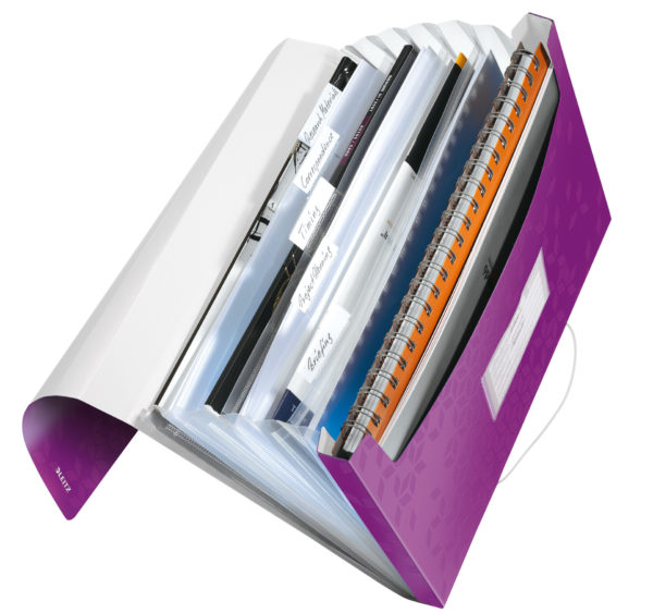 LEITZ Dossier project WOW A4 violet