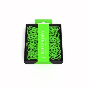 Trombones QC verts - 100 pièces