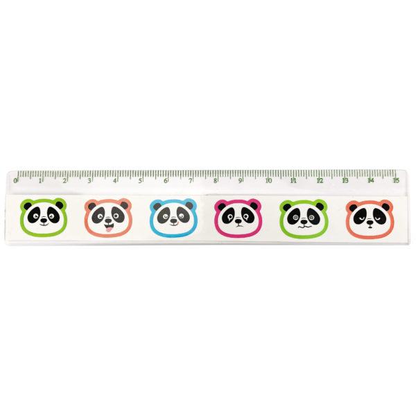 Règle Panda 15 cm