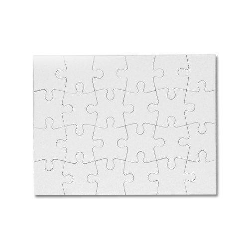 Puzzle en carton 18 x 13 cm - 24 pièces